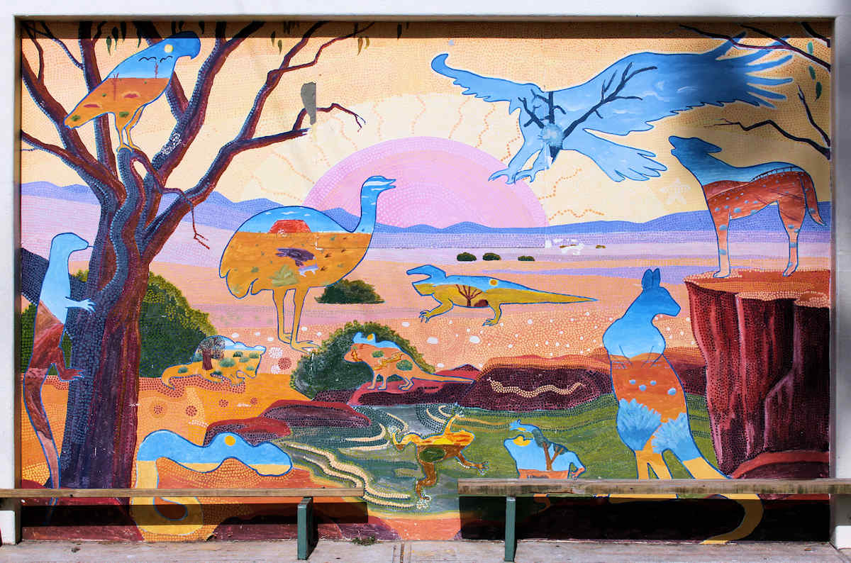 Christine lawrence desert mural christine lawrence for Call for mural artists 2014